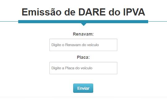 Como Emitir o IPVA - Pelo portal do Sefaz Tocantins