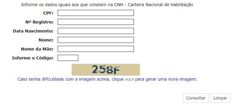 Consulta de CNH