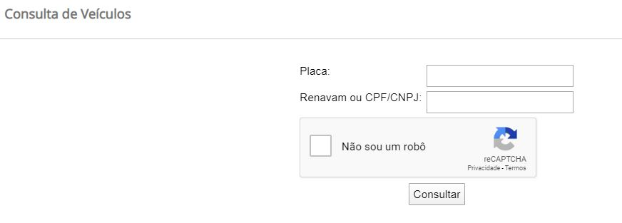 Consulta IPVA Rondônia