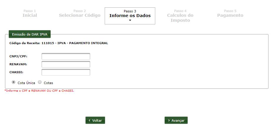 Emitir Boleto IPVA Piauí